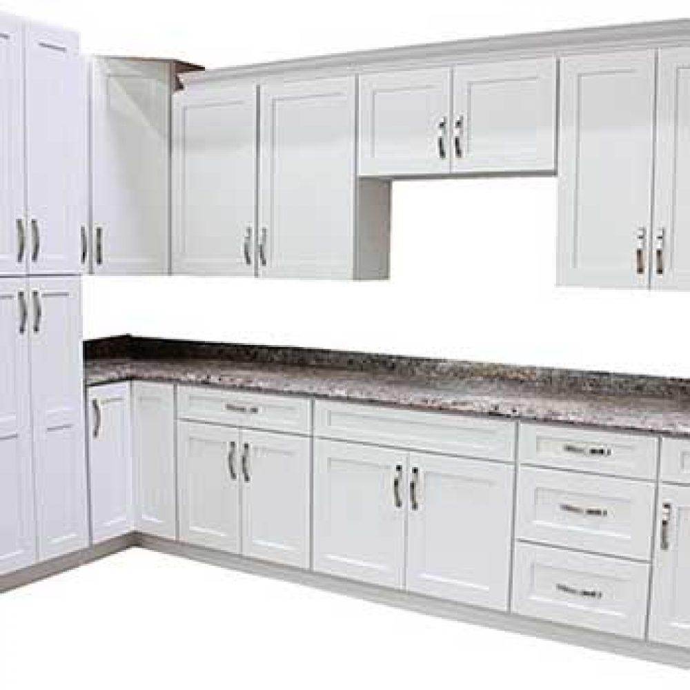 Best Kitchen Gallery: Arctic White Kitchen Cabi S Builders Surplus Wholesale Kitchen of Builders Surplus Kitchen & Bath Cabinets on rachelxblog.com