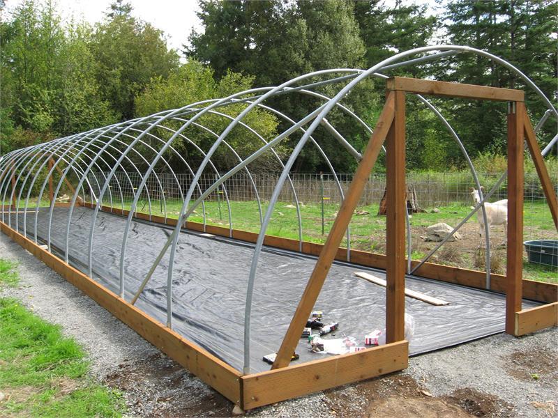 Lumber Raised Garden