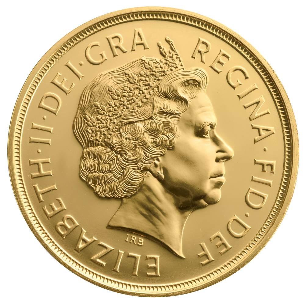 163 5 British Gold Coin Quintuple Sovereign Bullionbypost
