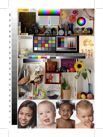 Black Prints Color Hp Printer White And