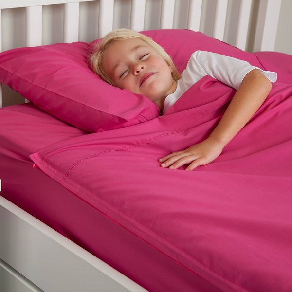 Zipper Sheets For Kids Fuchsia Cotton Kids Zip Sheets