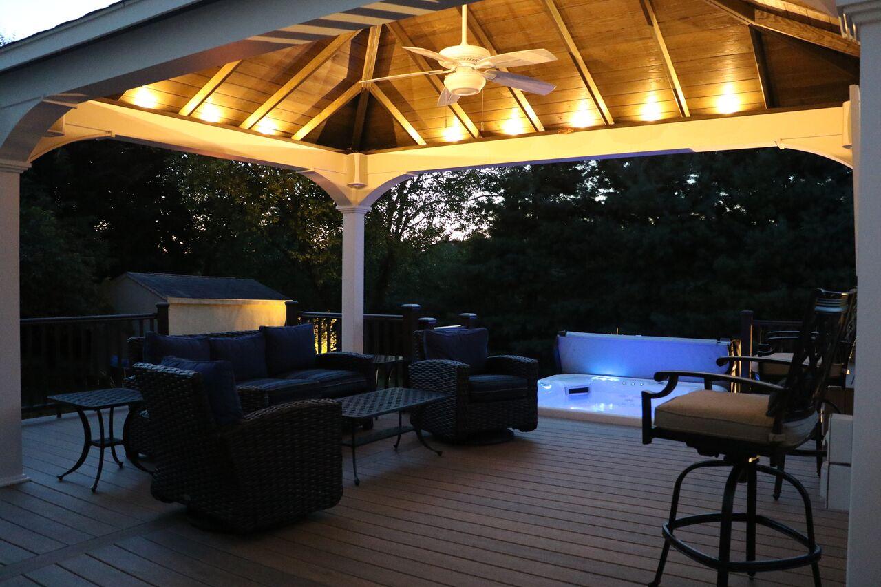 Outdoor Structures Pavilions Burkholder Landscape
