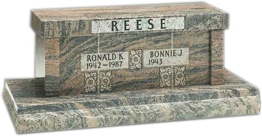 Memorial Benches Cemetery Bench