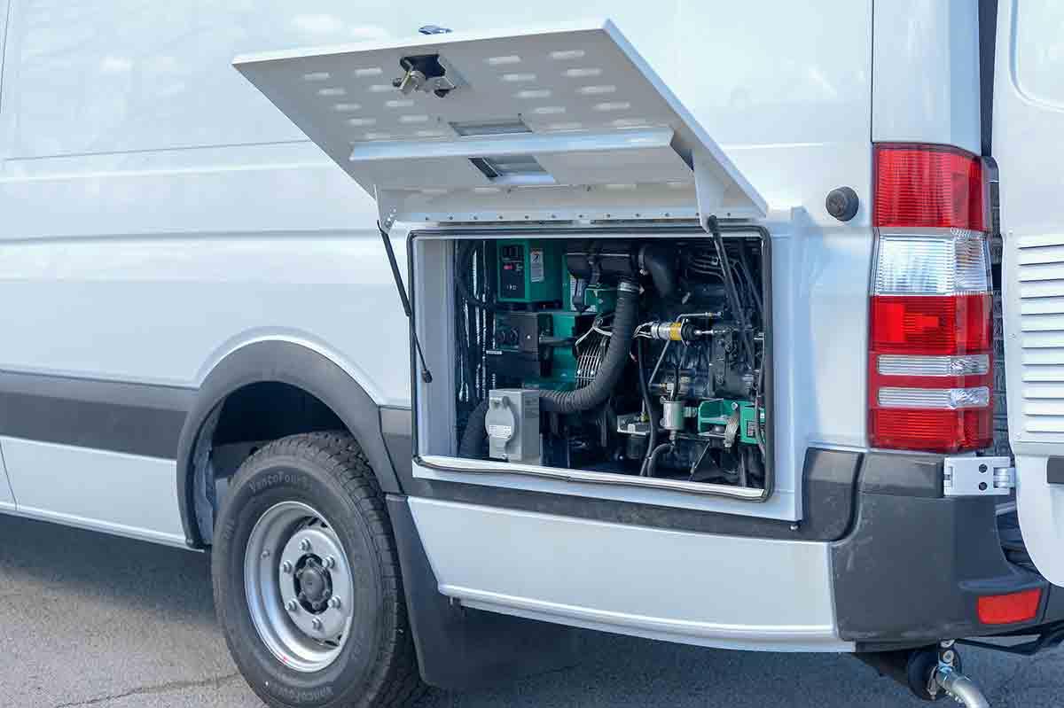 Mobile Tire Trucks Bush Specialty Vehicles