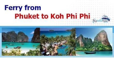 Phuket to Koh Phi Phi ferries from THB 650 ...
