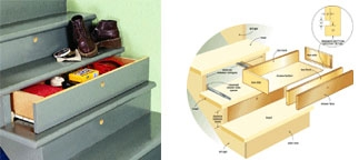 Small Houses Storage Staircase Storage Organizing | Staircase For Small House | Indoor | Cupboard | Narrow | Duplex | Square