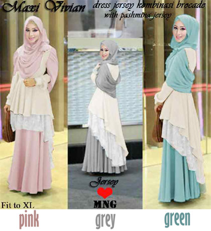 Model Baju Brokat Pesta Rok 13