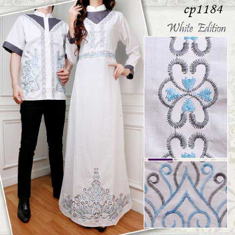 Gamis Couple Cp White