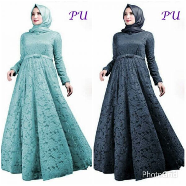 Image Result For Model Baju Gamis Pesta Sederhana Elegan