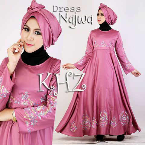 Image Result For Model Gamis Satin Payung
