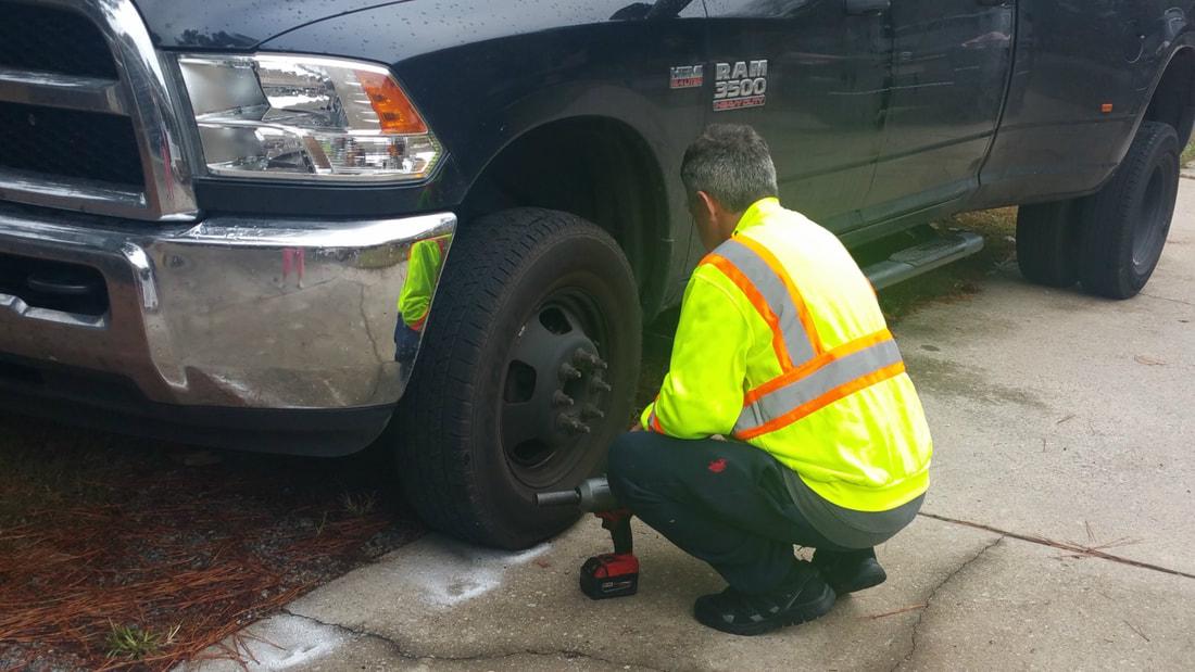 Flat Tire Repair Near Me Now