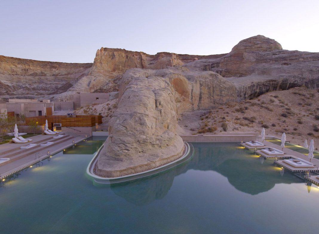 Best Kitchen Gallery: Amangiri Luxury Resort Hotel In Canyon Point Utah Caandesign of Canyons Resort Hotels  on rachelxblog.com