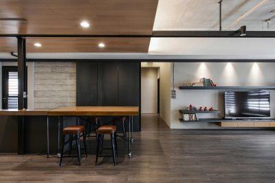 Home interior design - Contemporary loft by AYA Living Group