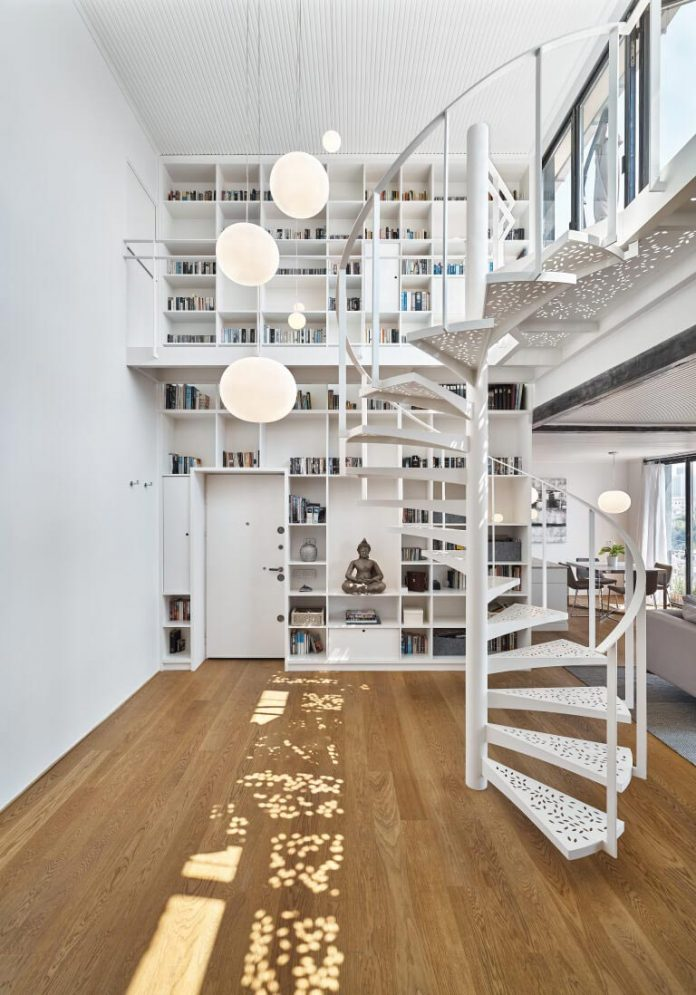 Ofist Design The White House Penthouse Set On The Top