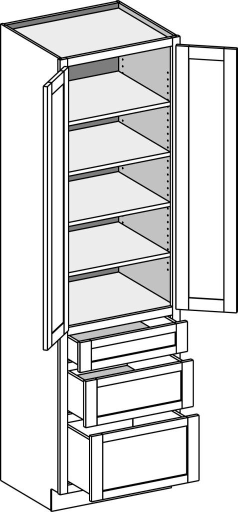 Base Depth Standard Cabinet