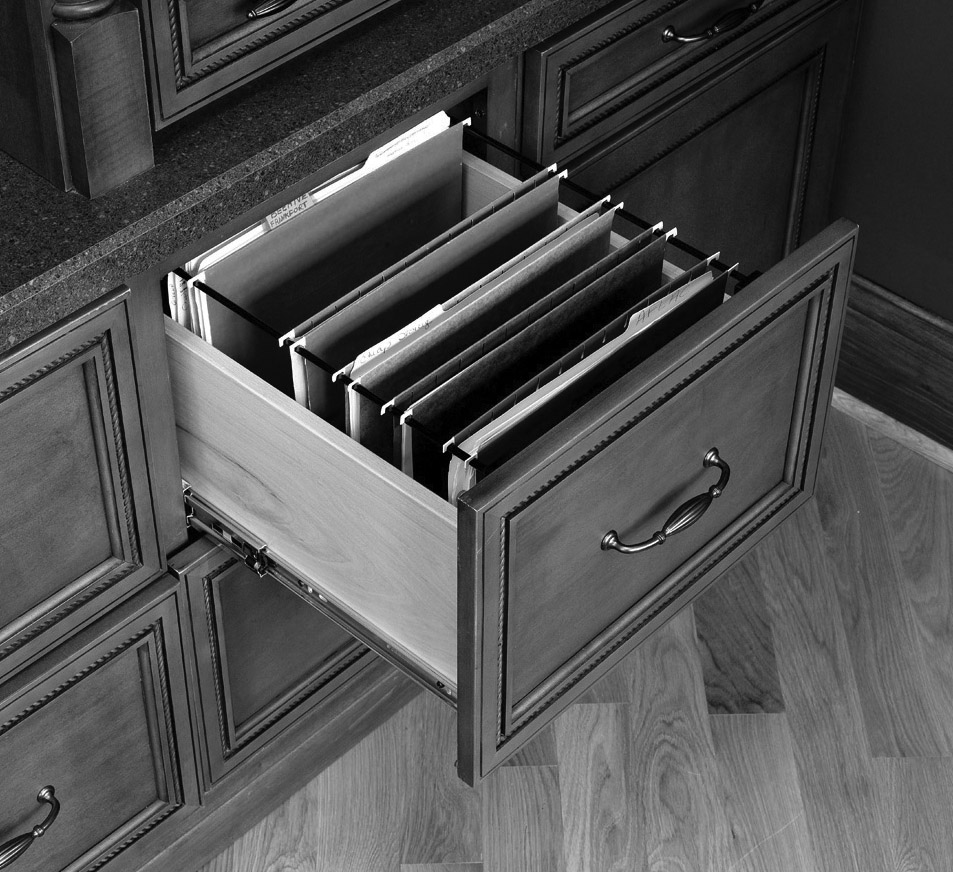 File Drawer Support System The Cabinet Joint