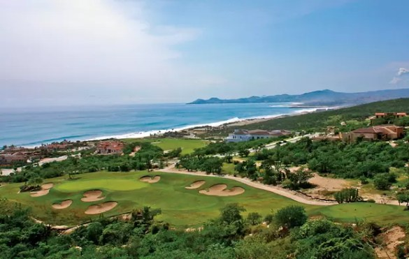 Palmilla Golf Club   Cabo Shuttle Services Palmillia Golf Club house