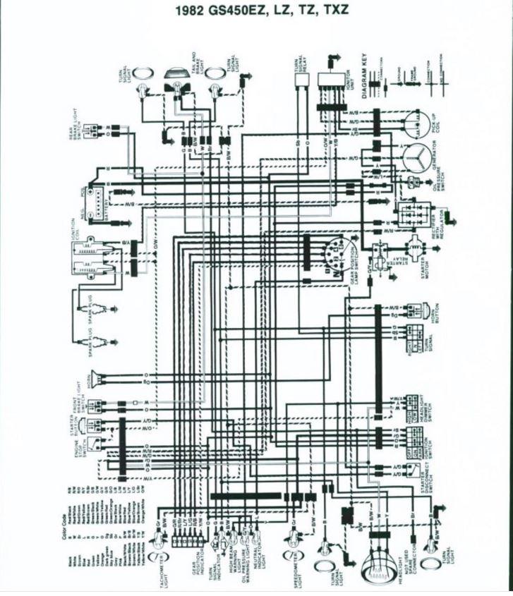 Suzuki Gs450 Diagram Wire