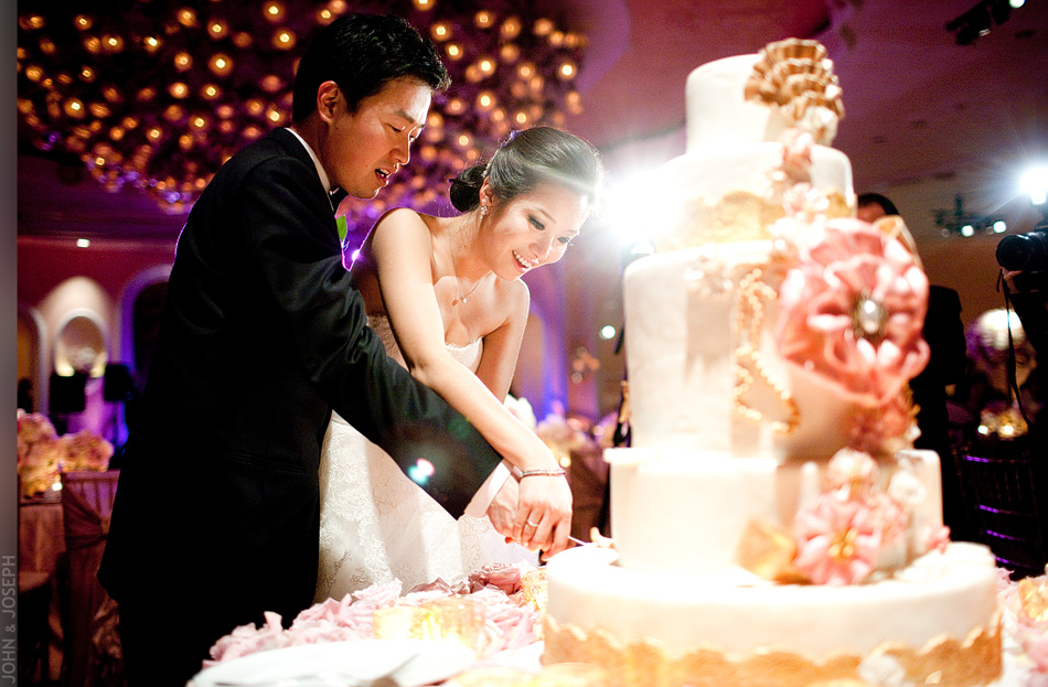 Cut Wedding Cakes