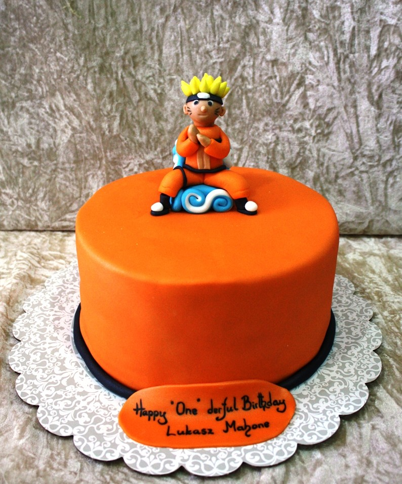Naruto Birthday Cakes