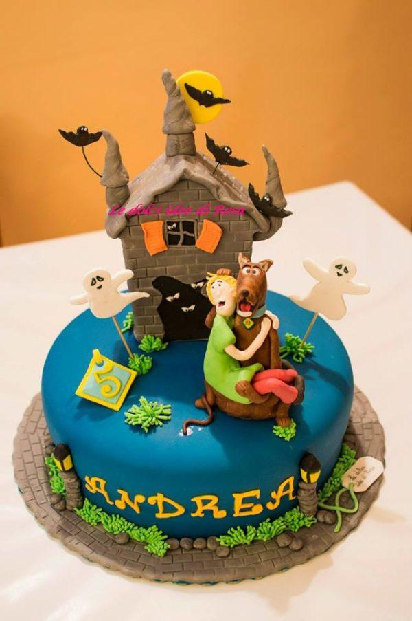 Torte Con Scooby Doo E Shaggy In Pasta Di Zucchero