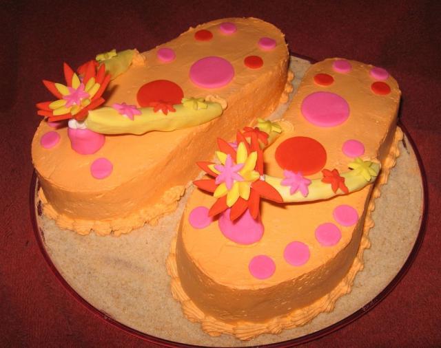 Cakes Birthday Flip Flop
