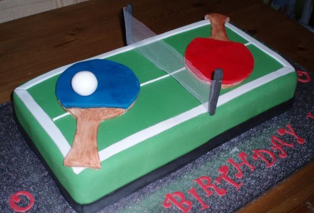 Ping Pong Table Cake Jpg Hi Res 720p Hd