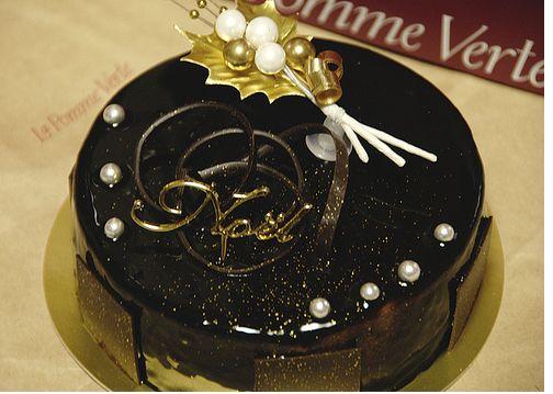Dark Chocolate Christmas Cake Image Jpg 1 Comment
