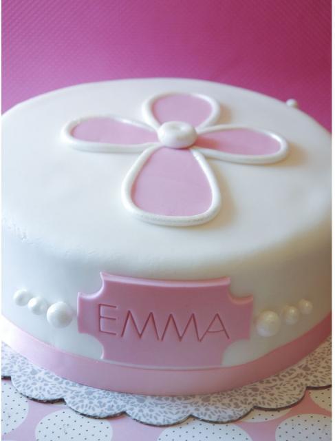 Easy Christening Cake