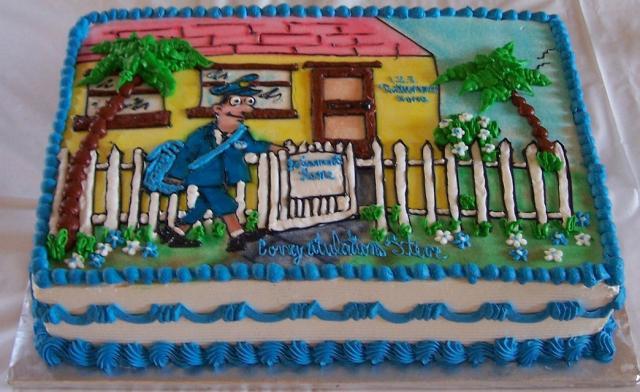 Mailman Retirement Cake Picture Jpg 1 Comment Hi Res 720p Hd