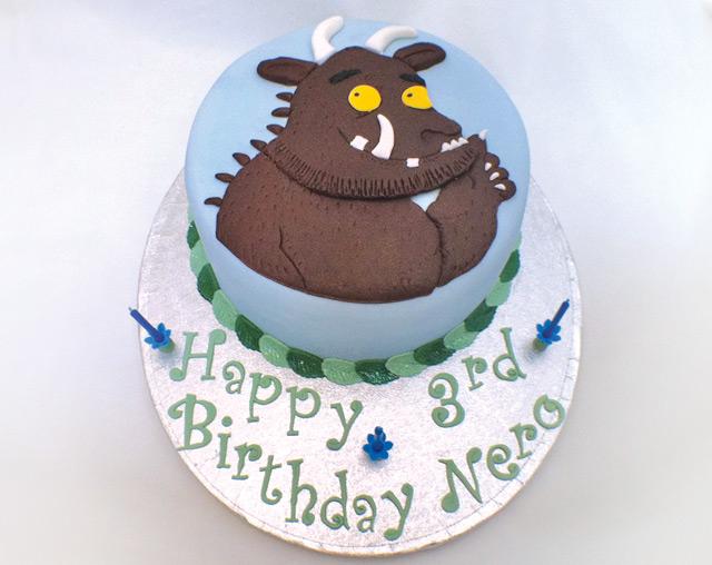 Pin Gruffalo Mask Template Cake On Pinterest