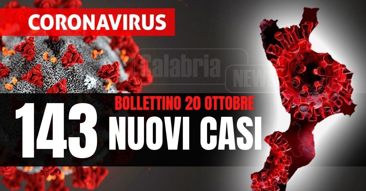 Coronavirus Calabria: un morto nel Catanzarese, su i ricoveri (+1) stabili le intensive. Esaminati 4.302 tamponi
