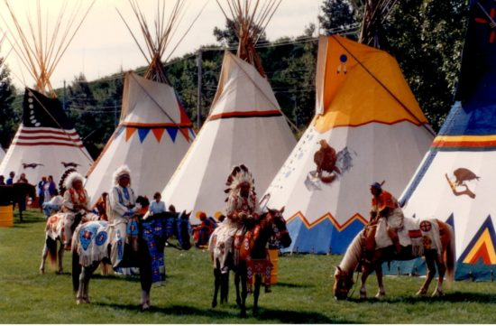 The Calgary Stampede And Indian Village Preserve The Past