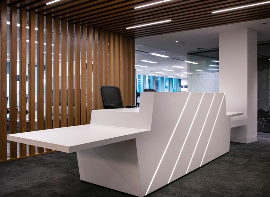 Bespoke Reception Desks