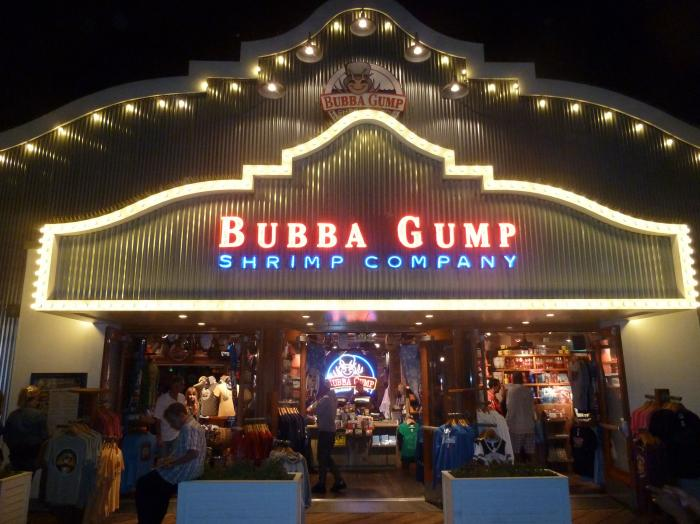 Bubba Gump Shrimp Santa Monica