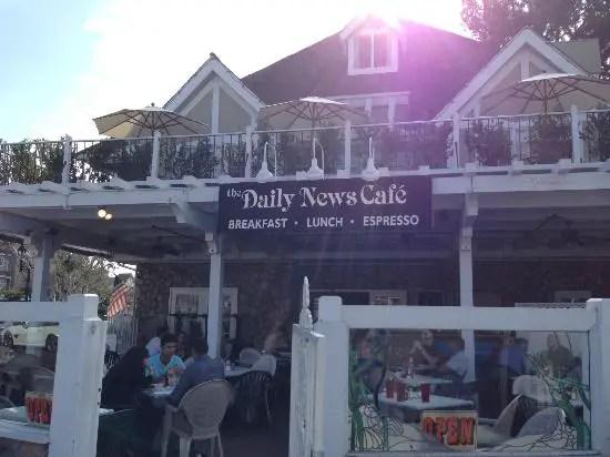 Daily News Cafe Carlsbad Ca California Beaches