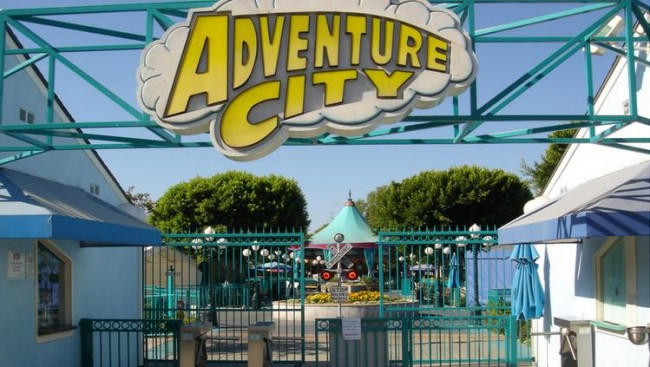 Map Anaheim Attractions
