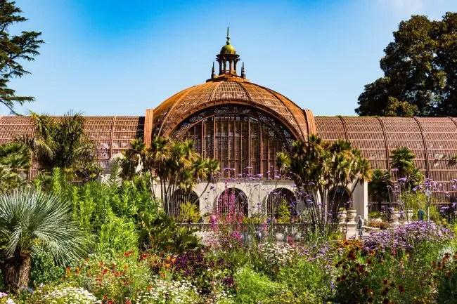 Balboa Park Rose Garden San Diego Ca California Beaches