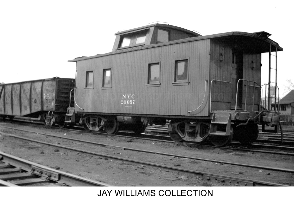 New York Central Caboose Roster