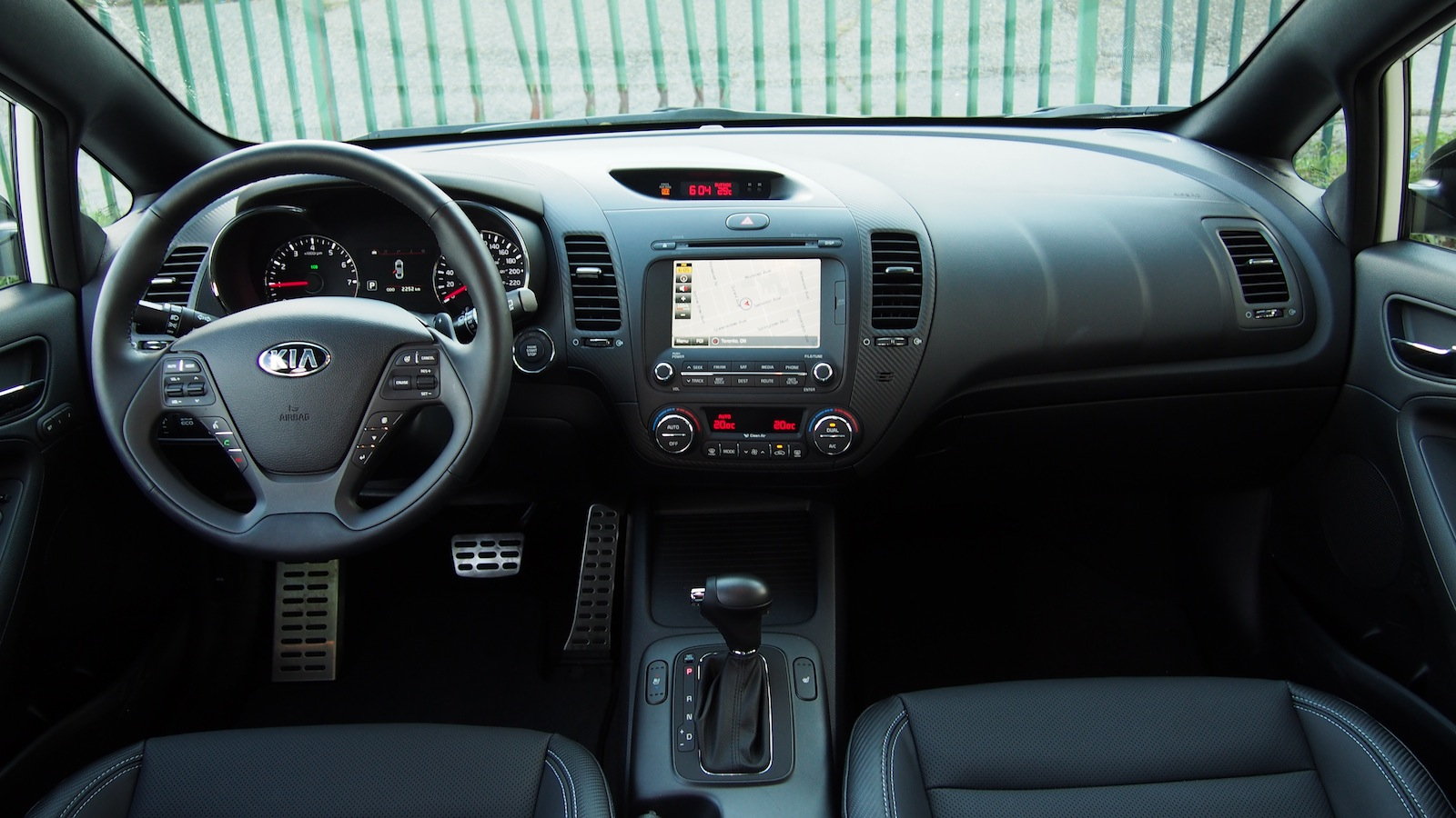 Interior Cadenza Kia