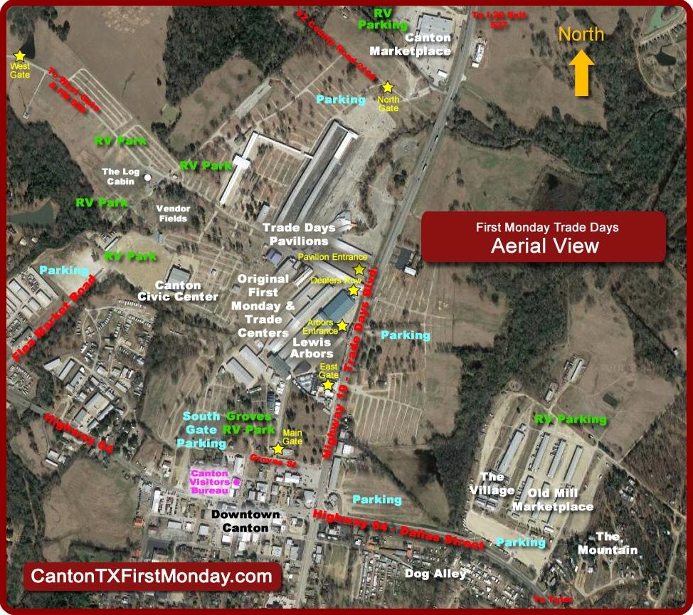 Dallas Code Area Tx Map
