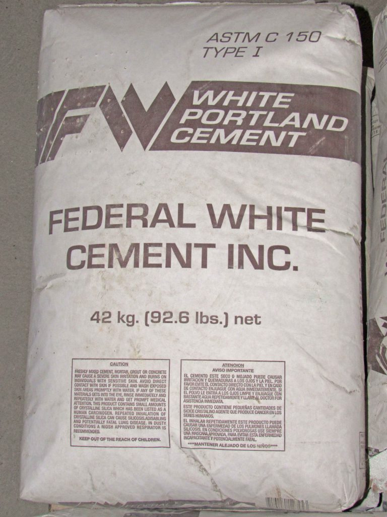 White Portland Cement 94lb Capitol City Lumber