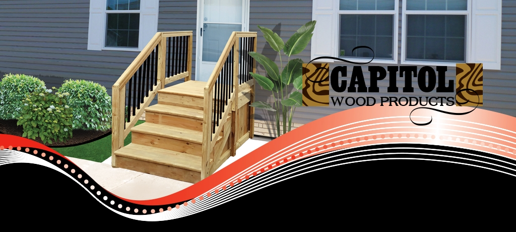 Capitol Supply And Service | Steps For Mobile Homes Outdoor | Plastic | Small | Steel | Portable | Pressure Treated