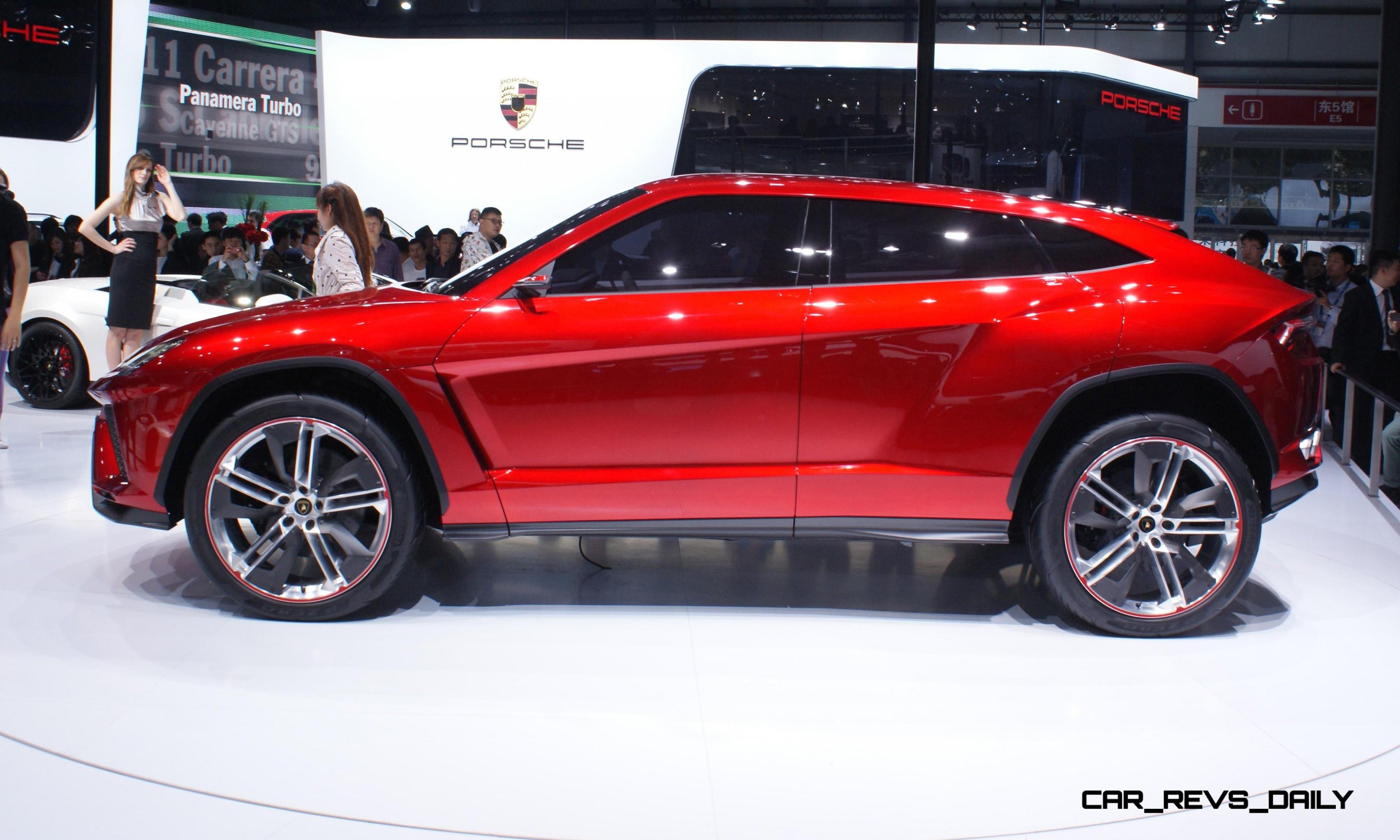 Lamborghini Paris Launch Rumored To Be All New 2016 Urus