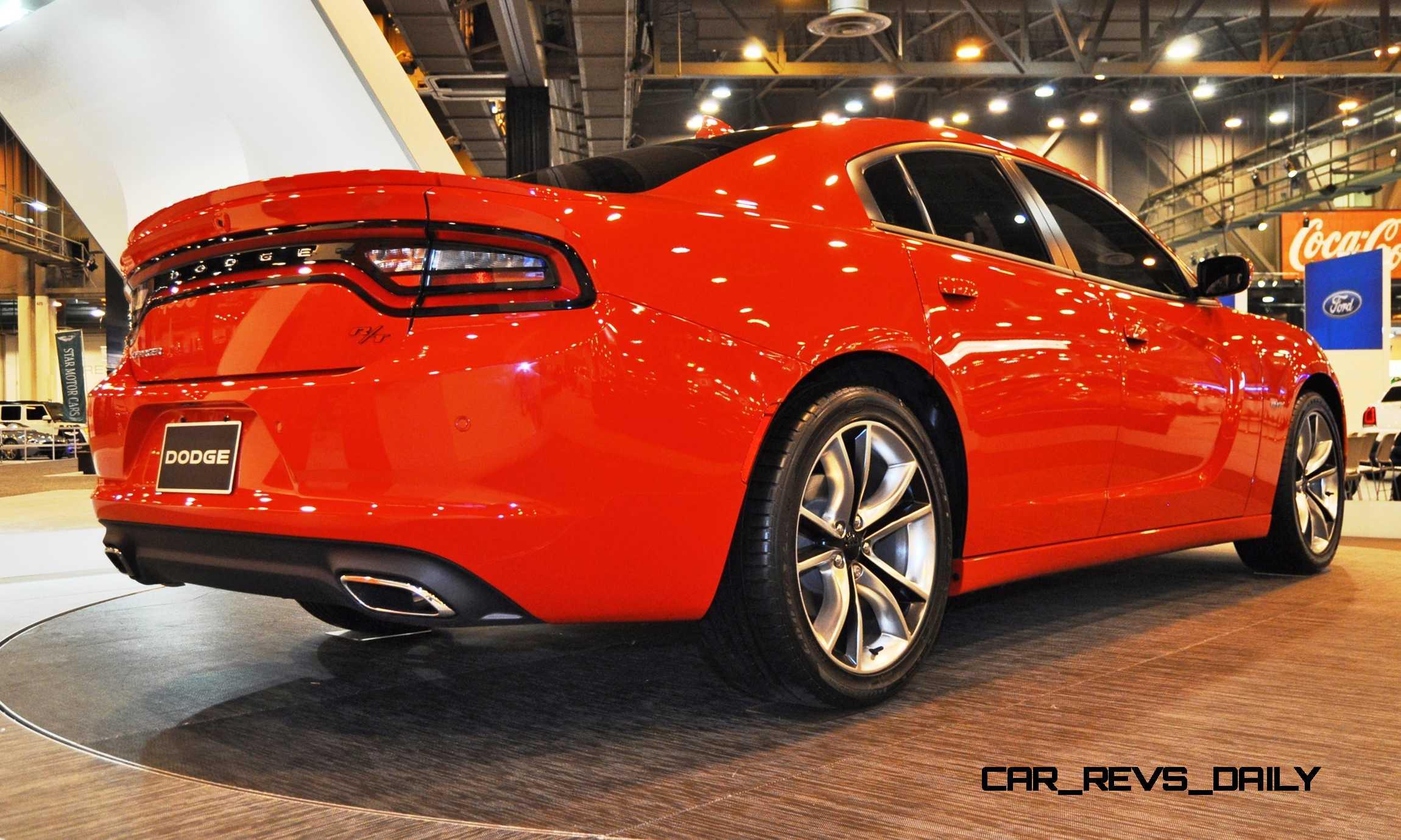 Houston Auto Show 2015 Dodge Charger