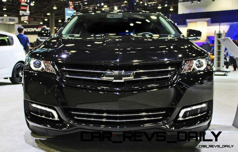 2017 Spoiler Impala Chevrolet