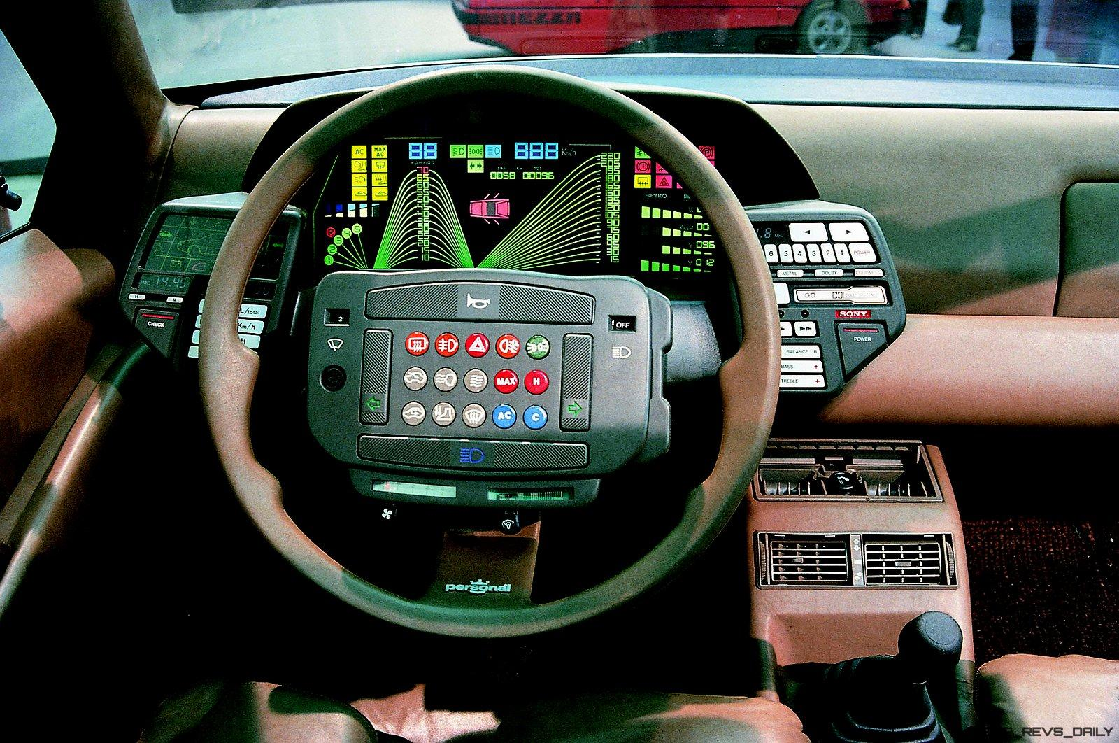 7 Of The Craziest Looking Dashboards And Interiors By