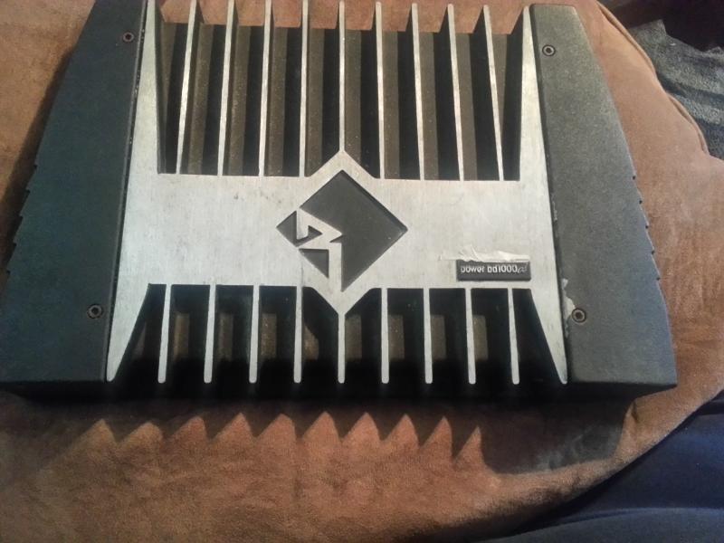 Old School Rockford Fosgate 2000 Watt Power