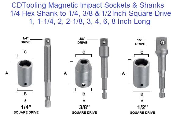 Socket 2 1 1 X Hex Drive Head 1 2 2 Sockets