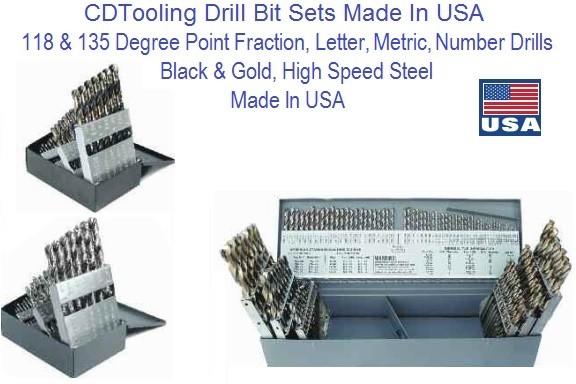 Jobber Length Drill Bits